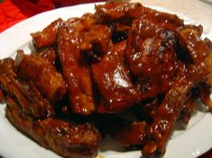 I made these St. Louis style ribs exactly as described in the recipe....SO good. As fall off the bone good as any restaurant could serve up. I'm going to double the recipe next time because the leftovers were just as tasty.