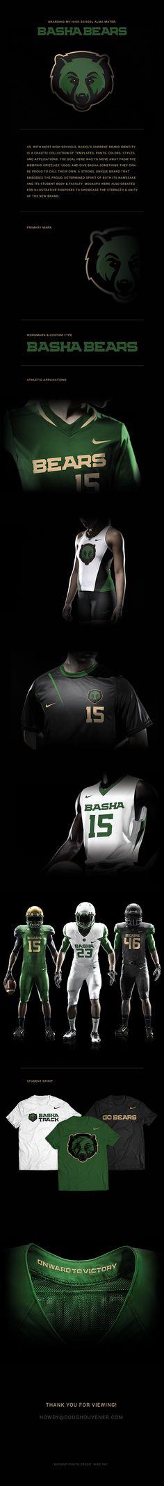 Rebranding My Alma Mater: Basha High School on Behance