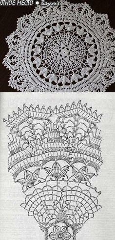 crochet lace pattern <3 Deniz <3