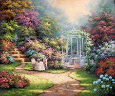 gazebo garden table-for-two