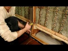 Couch Repair, and How to add legs to a couch. Going to try this on the red couch until I can afford a new one! Diy Furniture Repair, Diy Home Repair, Furniture Ads, Couch Furniture, Diy Furniture Projects, Home Decor Furniture, Cheap Furniture, Furniture Stores, Wooden Furniture