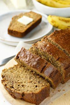 Healthy Banana Bread with Applesauce Recipe