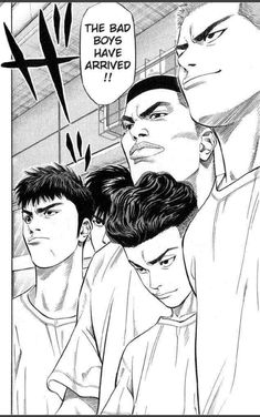 Read Slam Dunk Chapter 221 : Hurry And See Sannoh - There are many different popular mangas out there in the real world, but this particular form of anime can be hard to find, especially if looking for something that was originally in print ye Manga Anime, Comic Manga, Manga Comics, Anime Art, Comics Illustration, Illustrations, Slam Dunk Manga, Inoue Takehiko, Basketball Art