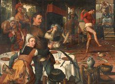 De_eierdans_(1557).jpg (3404×2496) Pieter Aertsen The Eggdance 1557
