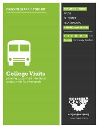 Toolkit with step-by-step checklists to plan intentional and successful college visits.