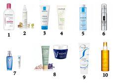 French Skincare Routine | 1. Makeup remover 2. Cleansing Oil 3. Gel Cleanser 4. Exfoliator 5.Tonic/Toner 6. Essence 7. Serum & Spot Treatment 8. Detox masque & Sleeping Mask 9. Moisturizer 10. SPF spray