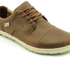 Minimalist shoe that simulates barefoot walking. LEMs Shoes Nine2five Coffee & Cream (M)