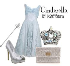 DisneyBound is Awesome! Tons of outfits for Disney characters. Disneybound Outfits, Disney Outfits, Cute Outfits, Disney Clothes, Cinderella Outfit, Cinderella Disney, Cinderella Costume, Disney Princesses, Disney Inspired Fashion