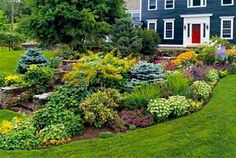 love this front yard garden!