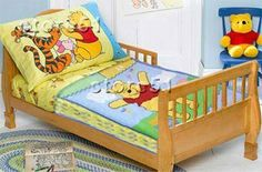 """Winnie the Pooh Comfy Quilt by Disney. $15.99. Quilt is extremely soft made of a 65% polyester, 35% cotton blend with 100% polyester backing. Quilt measures 42"""" x 58"""". Instant happiness. The multicolor quilt features a smiling Winnie-the-Pooh and a big jar of hunny. 58""""L x 42""""W. © Disney."""