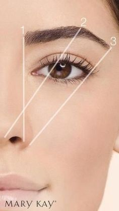 Beauty Tip: The right brow shape can actually lift your face…