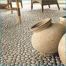 kiezel mozaiek - als terras zelf maken!