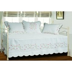 Guinevere Quilted 4-piece Daybed Set