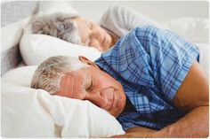 Older people tend to experience less sleep, due to taking frequent trips to the bathroom, and  losing the ability to create deep restorative sleep compared with young adults.