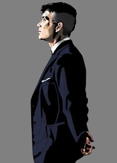 Peaky Blinders - Beautiful piece of Art - Made bij Shane Monahan 💙 Peaky Blinders Characters, Peaky Blinders Poster, Peaky Blinders Wallpaper, Peaky Blinders Quotes, Cillian Murphy Peaky Blinders, Peaky Blinders Tommy Shelby, Bob Marley Art, Blind Drawing, Actors Images