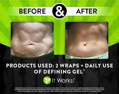 It Works Ultimate Body Applicator wraps and Defining Gel! Tighten saggy loose postpartum skin on your belly OR anywhere from the neck down! It Works Wraps, It Works Defining Gel, It Works Global, Ultimate Body Applicator, It Works Products, Crazy Wrap Thing, Body Contouring, Skin Tightening, Exercises