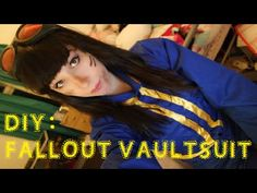 Fallout 4 cosplay tutorial youtube video by JessDresses Cosplay. Super easy sewing / DIY tutorial for people of all skill levels