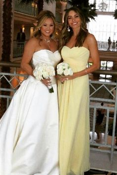 Celebrity Bridesmaids. Bridesmaid PicturesYellow Bridesmaid DressesWedding  ... ffe6ac039814