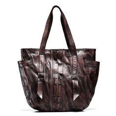 Men Tanned Leather Vintage Durable Retro Shop Handbag Bucket Suitcase Luggage  #teemzone #ToteBag
