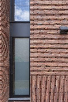 Sustainable brick inspiration from around the world. Brick Design, Facade Design, Exterior Design, Brick Cladding, Brickwork, Brick Face, Modern Villa Design, Brick Texture, Brick Architecture