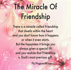 The Miracle of Friendship friends friendship quotes teddy bear friend quote thinking of you friend greeting friend poem friends and family quotes i love my friends Best Friendship Quotes, Friend Friendship, Friendship Cards, Bff Quotes, Family Quotes, Qoutes, Friendship Pictures, Genuine Friendship, Friendship Necklaces