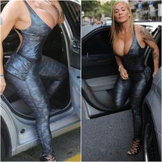 🌍 World Traveler! 🇪🇸 • Ⓜ️ @victorialombafit • #victorialomba #model #bodysuit #sexy #happy #travel #spain
