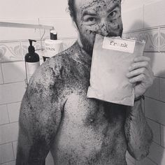 He was shy at first, but I changed all of that. #realmenscrub