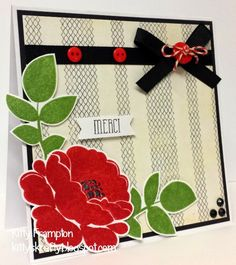Made for Quick Cards Made Easy Magazine using Avery Elle Petals & Stems Stamps.  More info on my blog - http://kittyskrafty.blogspot.co.uk/2014/04/petals-stems.html
