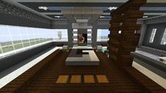 Minecraft Furniture - Bedroom - Ultra-Contemporary Bed Design