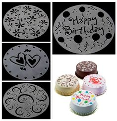 Eco Friendly 4 Styles Flower Heart Spray Birthday Silicone Mold Fondant Cake Decorating Tools Bakery DIY Moule Silicone