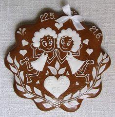 horoskop paličkovaný - Hledat Googlem Fun Cookies, Royal Icing, Gingerbread, Loga, Christmas Ornaments, Holiday Decor, European Style, Zodiac, Biscuits