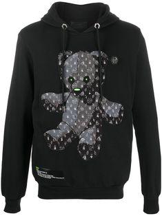 Designer Jackets For Men, Mens Sweatshirts, Hoodies, Aesthetic Hoodie, Bear Hoodie, Pretty Outfits, Black Cotton, High Fashion, Menswear