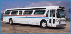 """1965 GMC - Model TDM5303 """"New Look"""" Bus.... I'd love to convert one of these into an awesome RV. - LGMSports.com"""