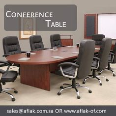 Conference Table To Make Your Office Meeting Gathering More Stylish