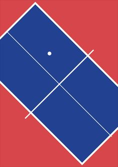 Table Tennis by Harry Heptonstall c/o http://print-process.com/Artist/Harry_Heptonstall/