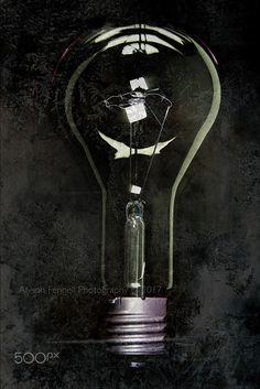 Giant Industrial Light Bulb. - Giant industrial light bulb.