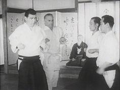 Two Americans beginning their training with top Aikido Masters, Morihei Ueshiba, Kisshomaru Ueshiba and my Master Koichi Tohei.