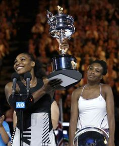 Tennis icon Serena Williams have claimed her 7th Australian Open, and record breaking 23rd Grand Slam title after a convincing victory over ...