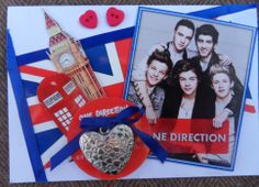 One direction scrapcard