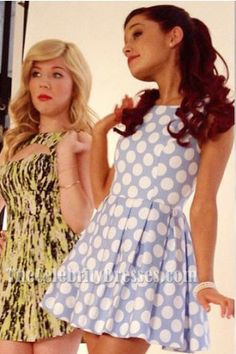 Ariana Grande Short A-Line Sleeveless Party Dresses