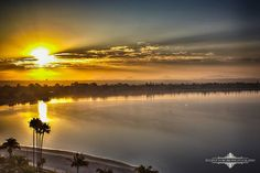 Absolutely Gorgeous San Diego Friday the 13th Sunrise over the county from the top of the Catamaran Resort Hotel and Spa by Evgeny Yorobe Photography.