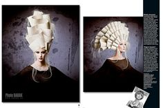 Avant Garde Hair Fashion by BABAK photography, via Flickr