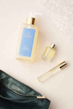 Aromatherapy Associates Serene Sleep Gift Set by in Green Size: All, Wellness at Anthropologie Vetiver Essential Oil, Patchouli Oil, Chamomile Oil, Ylang Ylang Flower, Aromatherapy Associates, Aromatherapy Candles, Relaxing Bath, Lavender Oil, Body Wash