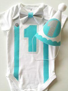 1er cumpleaños niño mono y corbata de moño de por LilBirdieShop