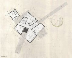 Trends in Architectural Representation: Understanding The Techniques,Ground floor of the House Nº1 in Curacaví, Santiago / Felipe Combeau + Pablo Alfaro. . Image © Felipe Combeau + Pablo Alfaro