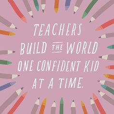 An inspiring quote about some of the most inspiring people in the lives of our children: teachers! Share it, then click through to Instagram for more inspirational quotes from Hallmark!