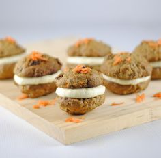 Carrot Cake Cookies with Cream Cheese Filling – Weekend Baking