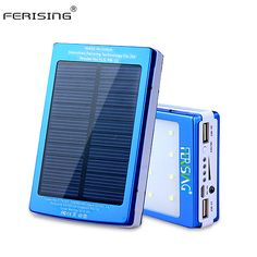 $39.99 (Buy here: https://alitems.com/g/1e8d114494ebda23ff8b16525dc3e8/?i=5&ulp=https%3A%2F%2Fwww.aliexpress.com%2Fitem%2FSolar-Power-Bank-Real-15600mAh-Dual-USB-External-Battery-Portable-Charger-Powerbank-Solar-Charger-Bank-For%2F32728970616.html ) Solar Power Bank 100% Real 15600mAh Dual USB Battery Portable LED Light Charger Metal Powerbank Solar Panel 2016 Ferising PB-11 for just $39.99