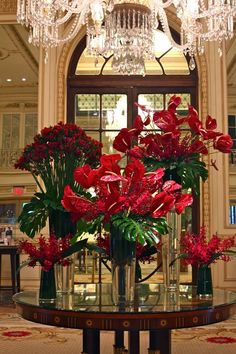 Floral with anthuriums