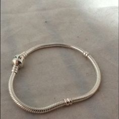 Authentic Pandora SS Bracelet --NWOT Authentic 7 inch Pandora Sterling Silver Bracelet new without tags Pandora Jewelry Bracelets